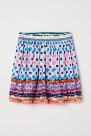 H&M Viscose Skirt with Tassels