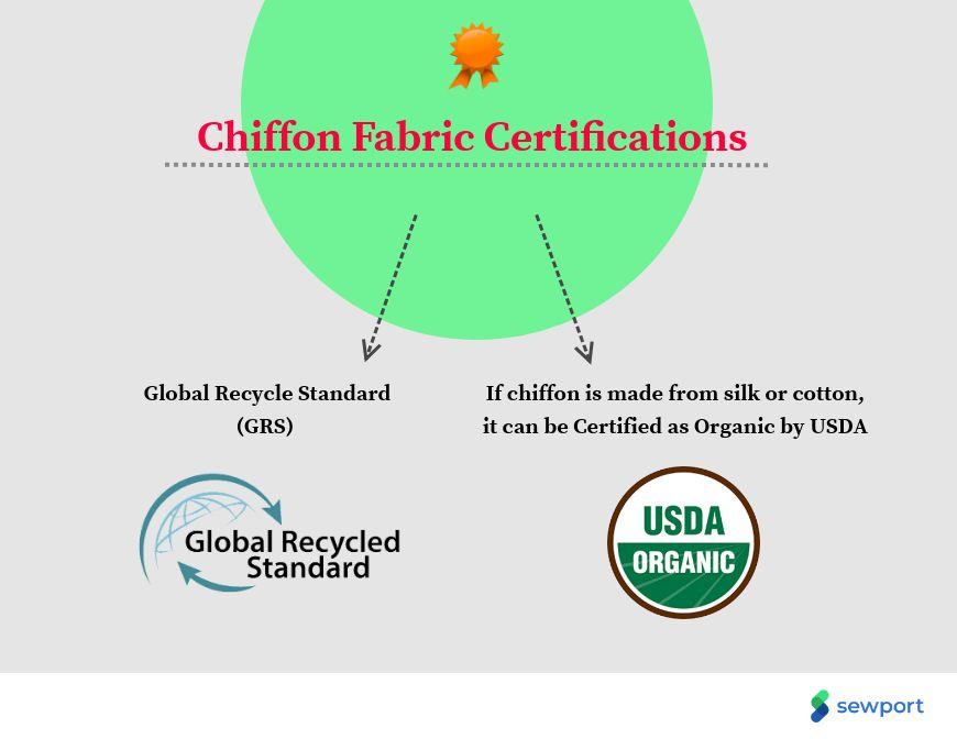 chiffon fabric certifications
