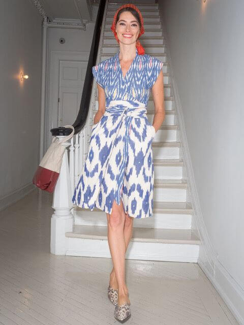 Bewitched Ikat Dress