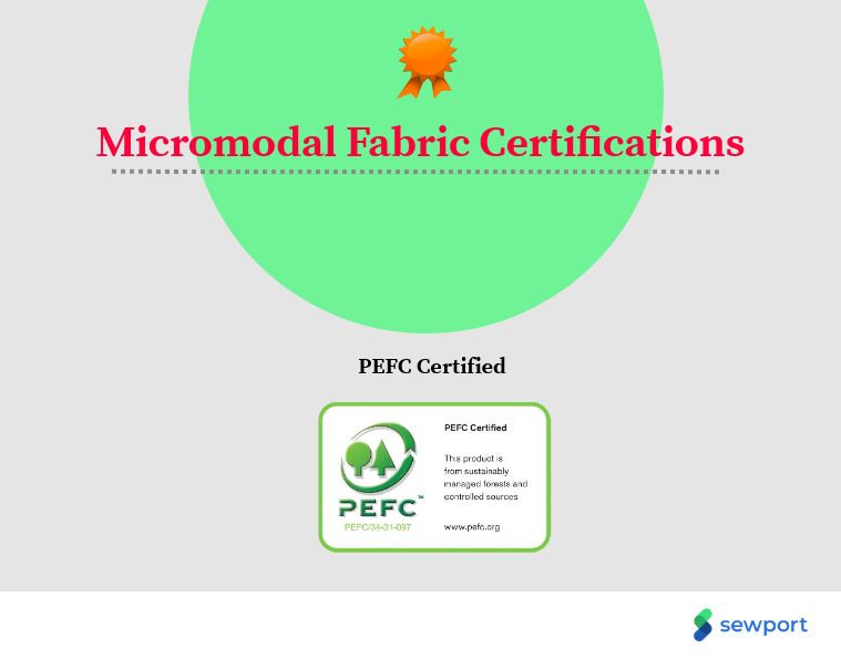 micromodal fabric certifications