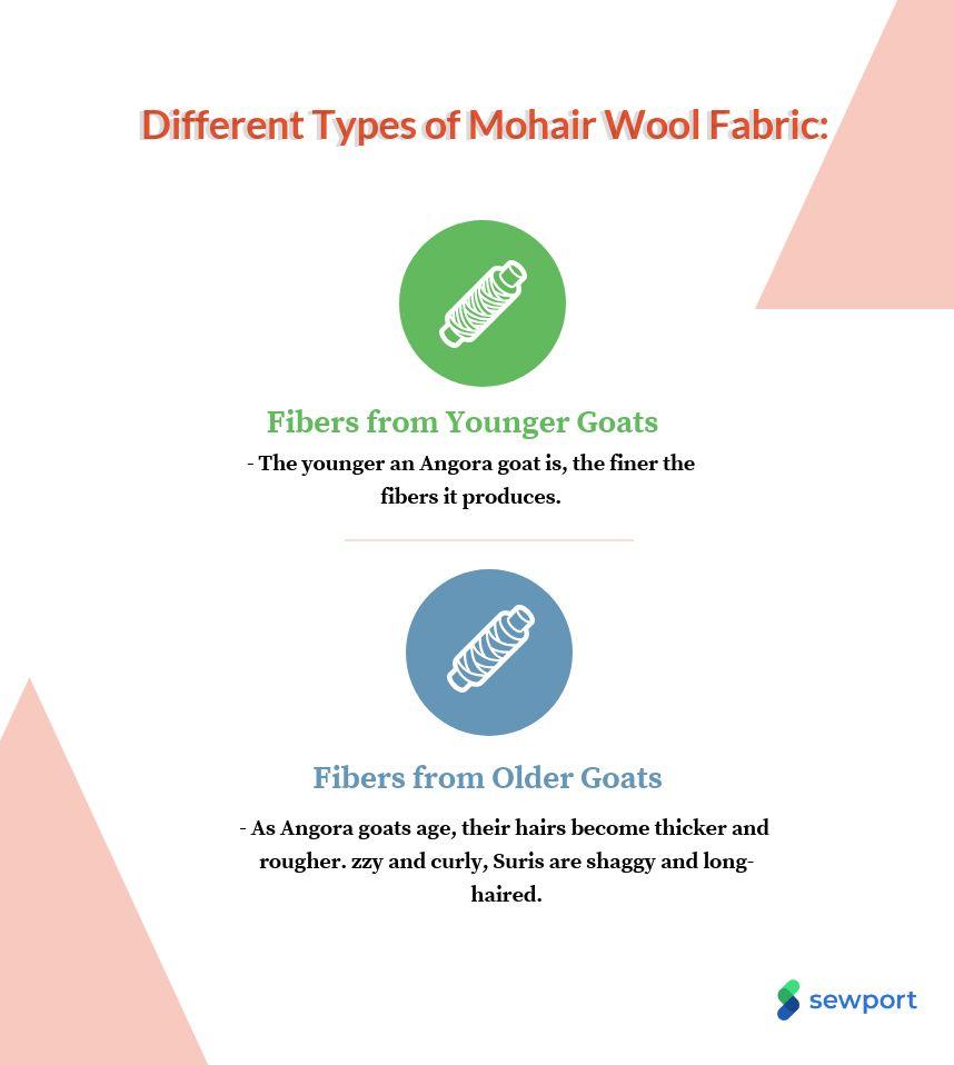 different types of alpaca wool fabric
