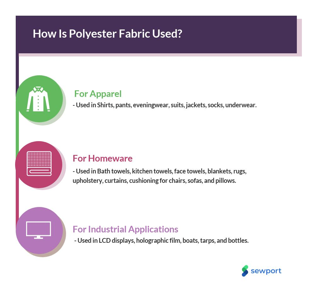 What Is Polyester Fabric Properties How Its Made And Where Sewport