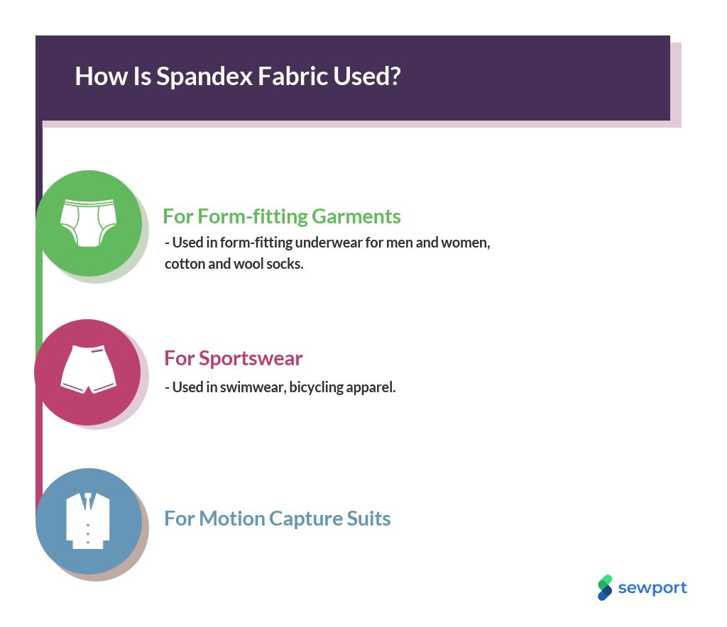 47591752d189 What is Spandex Fabric: Properties, How its Made and Where | Sewport