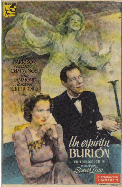 Un Espíritu Burlón (1945)
