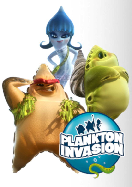 Plankton Invasion - Operación star junior
