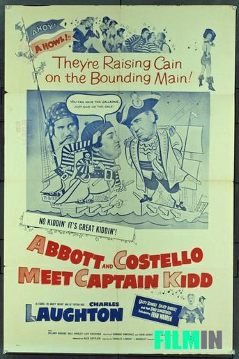 Abbott & Costello Encuentro Con El Capitán Kidd