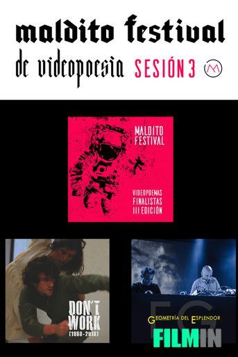 Maldito Festival de Videopoesía - Finalistas III Edición.