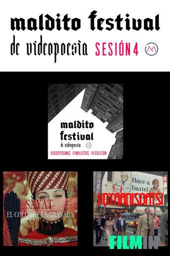 Maldito Festival de Videopoesía - Finalistas IV Edición.