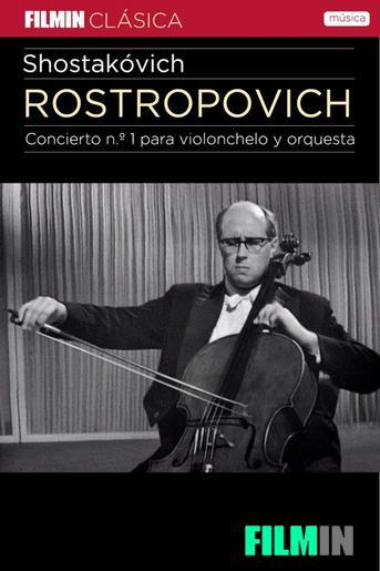 Rostropóvich interpreta a Shostakovich