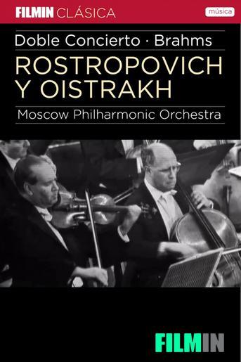 Rostropóvitx i Oistrakh interpreten Brahms