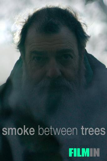 Smoke Between Trees