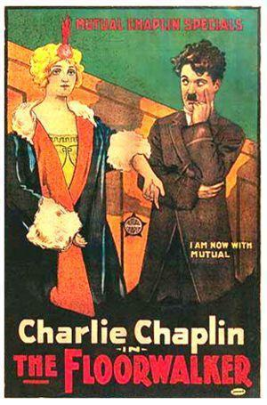 Charlot en la tienda (Charlot, encargado de bazar)