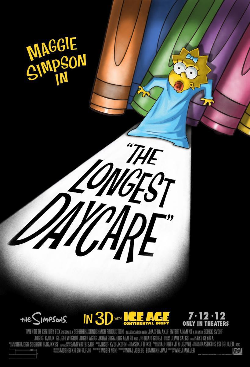 Maggie Simpson in The Longest Daycare