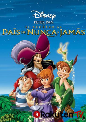 Peter Pan en Regreso al País de Nunca Jamás