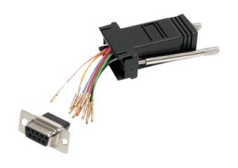 StarTech.com DB9 to RJ45 Modular Adapter