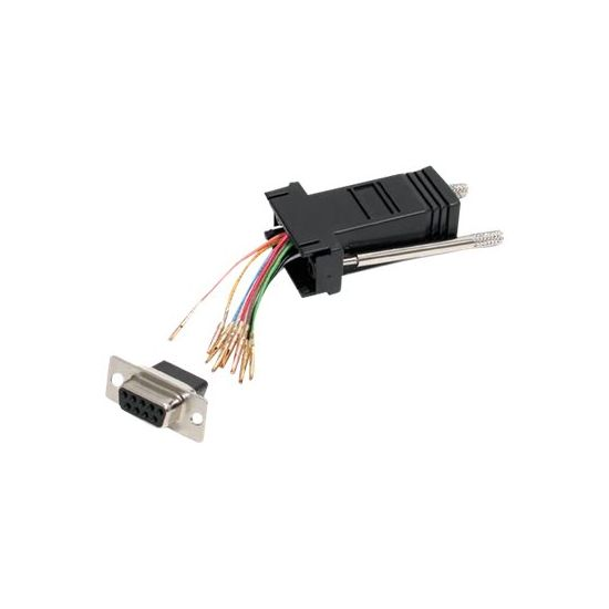 StarTech.com DB9 to RJ45 Modular Adapter - F/F - seriel adapter