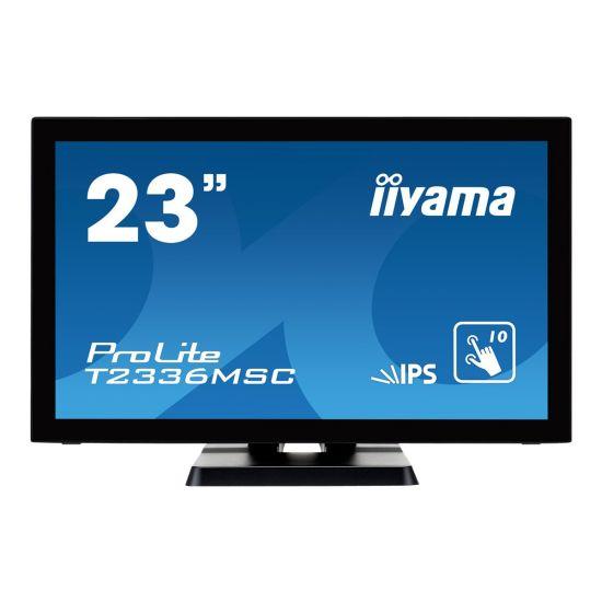 "Iiyama ProLite T2336MSC-B2 &#45 LED-Skærm 23"" IPS 5ms - Full HD 1920x1080"
