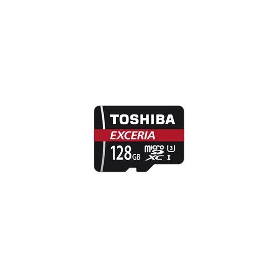 Toshiba EXCERIA M302-EA - flashhukommelseskort - 128 GB - microSDXC UHS-I