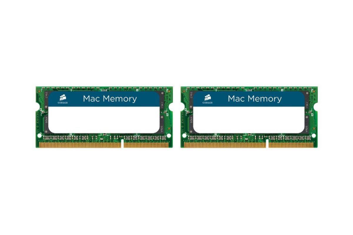 Corsair Mac Memory &#45 8GB: 2x4GB &#45 DDR3 &#45 1333MHz &#45 SO DIMM 204-PIN