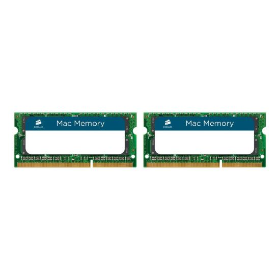 Corsair Mac Memory &#45 8GB: 2x4GB &#45 DDR3 &#45 1333MHz &#45 SO DIMM 204-PIN - CL9