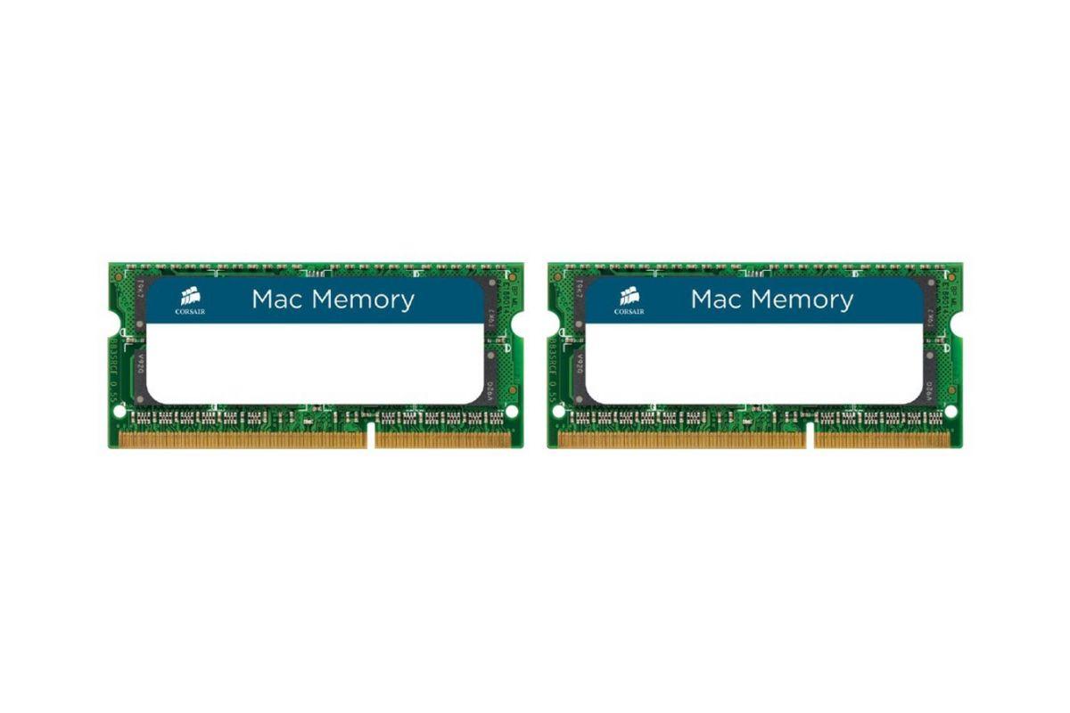 CORSAIR Mac Memory &#45 8GB: 2x4GB &#45 DDR3 &#45 1333MHz &#45 SO DIMM 204-PIN