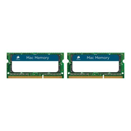 CORSAIR Mac Memory &#45 8GB: 2x4GB &#45 DDR3 &#45 1333MHz &#45 SO DIMM 204-PIN - CL9