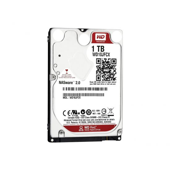 WD Red NAS Hard Drive WD10JFCX &#45 1TB