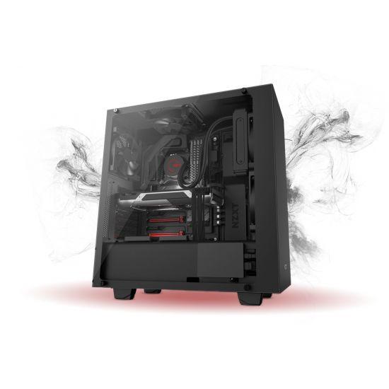 Føniks Valkyrie I Færdigsamlet Gamer Computer - Intel i5 8400 - Vandkøling - 8GB DDR4 - Nvidia GTX 1070 8GB - 250GB NVMe SSD + 1TB HDD - Windows 10