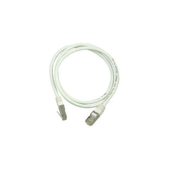 DELTACO Netværkskabel (FTP) 2 m Hvid