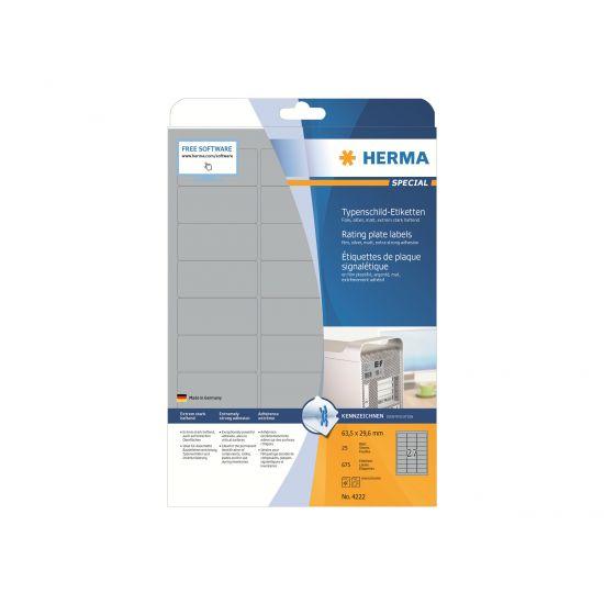 HERMA Special - filmmærkater - 675 etikette(r) - 63.5 x 29.6 mm
