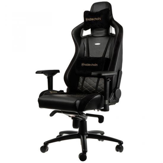 noblechairs EPIC Series Faux Leather Black/Gold