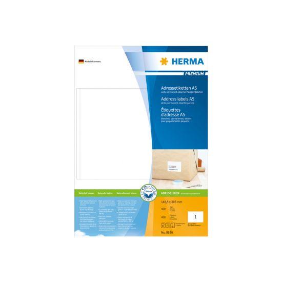 HERMA Premium - laminerede adressemærkater - 400 etikette(r)