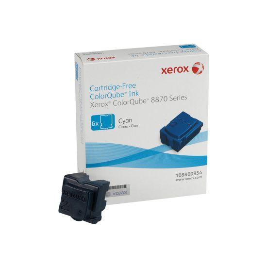 Xerox ColorQube 8870 - 6 - cyan - fast blæk