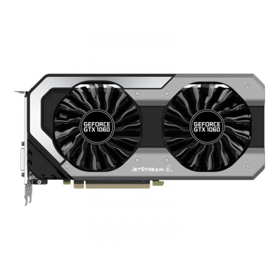 Palit GeForce GTX 1060 JetStream &#45 NVIDIA GTX1060 &#45 6GB GDDR5 - PCI Express 3.0 x16