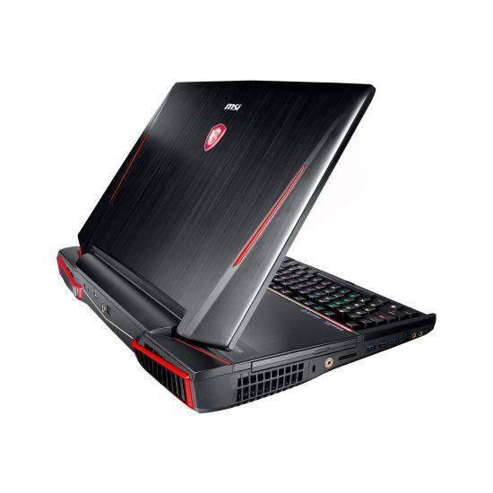 """MSI GT83VR 7RF 216NE Titan SLI - Intel Core i7 7820HK - 64 GB DDR4 - 2 x 256 GB SSD NVMe + 1 TB HDD - 2 x NVIDIA GeForce GTX 1080 8GB GDDR5X - 18.4"""""""