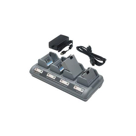 Zebra Quad Charger UCLI72-4 - strømforsyningsadapter + batterioplader