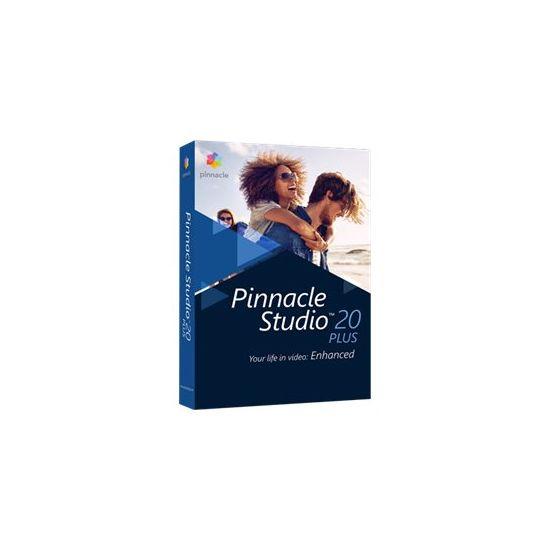 Pinnacle Studio Plus (v. 20) - bokspakke - 1 bruger