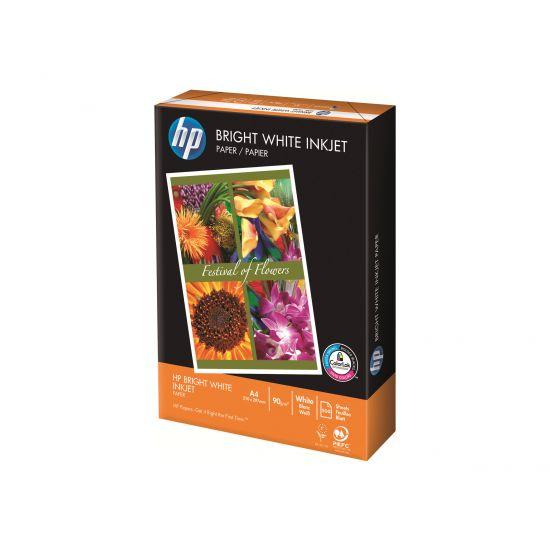 HP Bright White - almindeligt papir - 500 ark - A4 - 90 g/m²