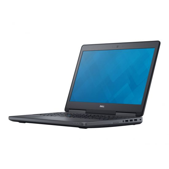 "Dell Precision Mobile Workstation 7510 - 15.6"" - Core i7 6820HQ - 16 GB RAM - 512 GB SSD - Nordisk"