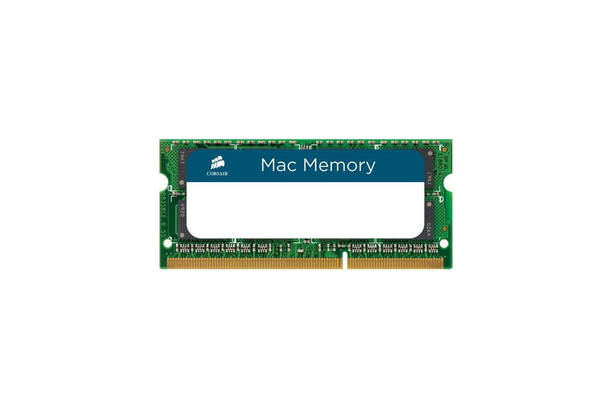Corsair Mac Memory &#45 8GB &#45 DDR3 &#45 1600MHz &#45 SO DIMM 204-PIN