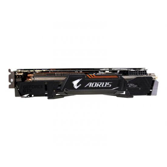 Gigabyte AORUS GeForce GTX 1080 Ti 11G &#45 NVIDIA GTX1080Ti &#45 11GB GDDR5X - PCI Express 3.0 x16