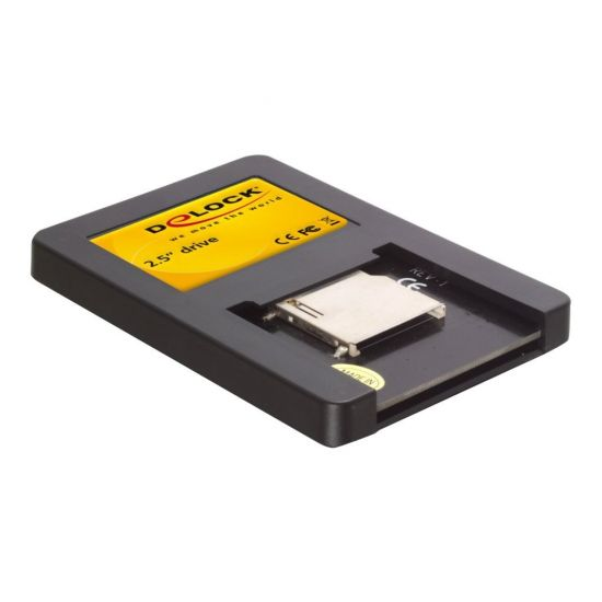 "DeLOCK 2½"" Drive SATA > Secure Digital Card - kortlæser - Serial ATA"