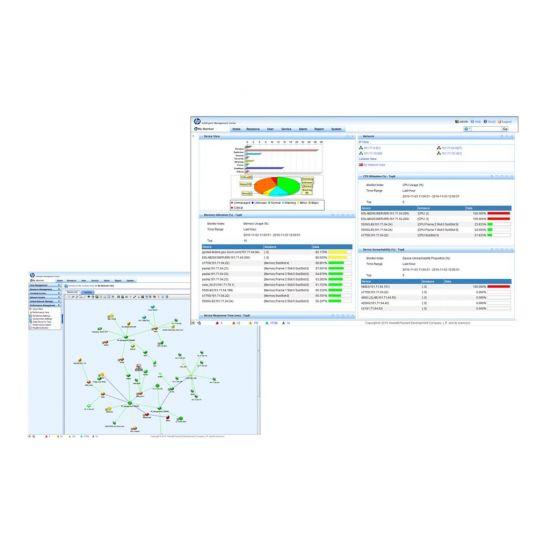 HPE Intelligent Management Center Basic Edition - licens - 50 netværksenheder