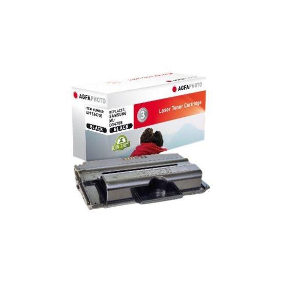 AgfaPhoto - sort - tonerpatron (alternativ til: Samsung ML-D3470B)