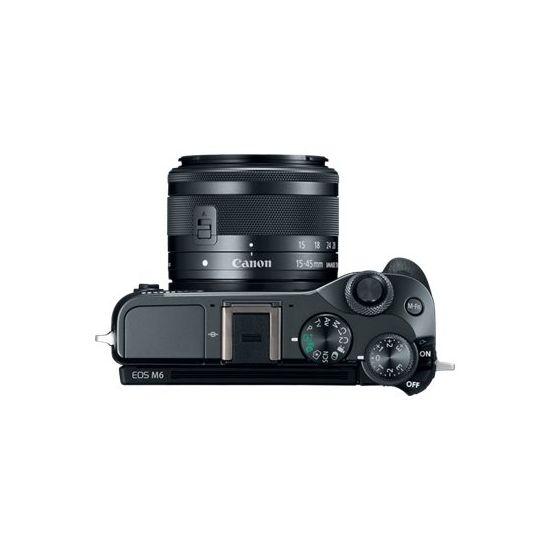Canon EOS M6 - digitalkamera - kun kamerahus