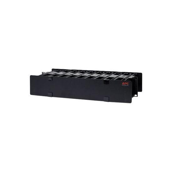 APC administrationspanel til stativkabler med dække - 2U
