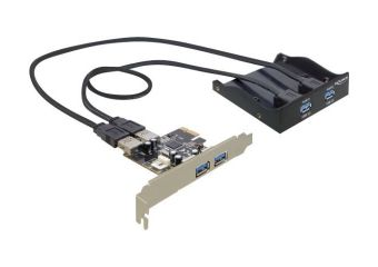 DeLock Front Panel 2 x USB 3.0 + PCI Express Card 2 x USB 3.0