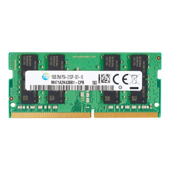 HP &#45 16GB &#45 DDR4 &#45 2133MHz &#45 SO DIMM 260-PIN - CL15