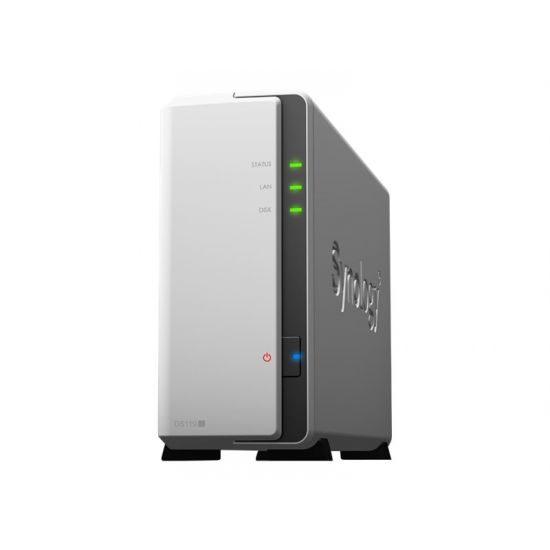 Synology Disk Station DS119j - personlig cloud-opbevaringsenhed - 0 GB