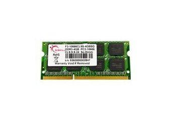G.Skill SQ Series &#45 4GB &#45 DDR3 &#45 1333MHz &#45 SO DIMM 204-PIN